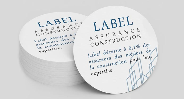label assurance décennal construction
